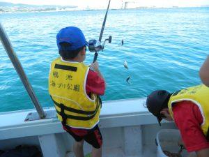 漁業体験イベントの様子2